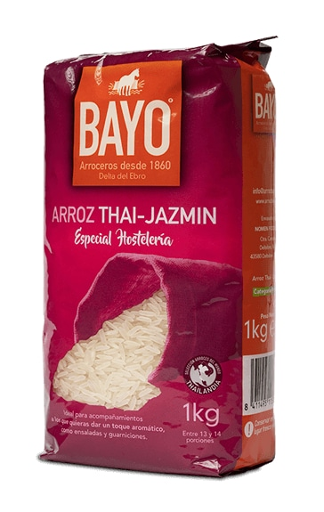 Arroz thai-jazmín